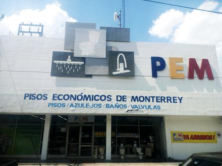 Pisos Económicos de Monterrey Sucursal Colón